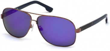 Diesel DL0125 sunglasses in Bronze