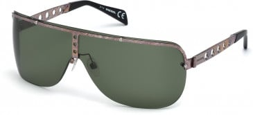 Diesel DL0126 sunglasses in Bronze