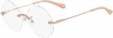 Chloé CE2147 glasses in Yellow Gold