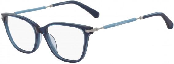 Calvin Klein Jeans CKJ18703 glasses in Crystal Teal