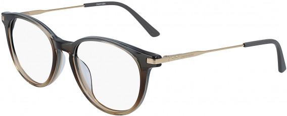 Calvin Klein CK19712 glasses in Crystal Grey/Brown Gradient