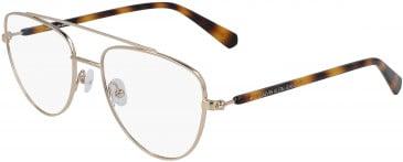 Calvin Klein Jeans CKJ19308 glasses in Gunmetal/Black