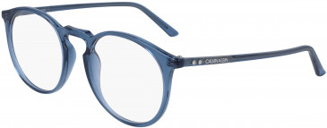 Calvin Klein CK19517 glasses in Crystal Dark Brown