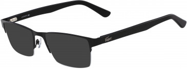 Lacoste L2237-55 sunglasses in Matte Black