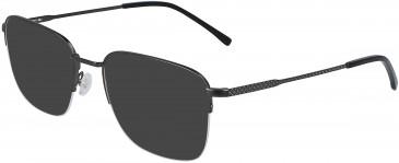 Lacoste L2254-52 sunglasses in Matte Dark Gunmetal/Black
