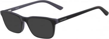 Calvin Klein CK18516-52 sunglasses in Black/Slate