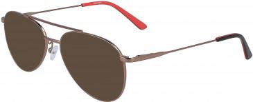 Calvin Klein CK19112 sunglasses in Amber Gold