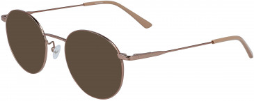 Calvin Klein CK19119 sunglasses in Amber Gold
