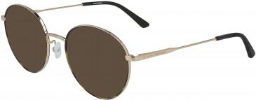 Calvin Klein CK19121 sunglasses in Gold