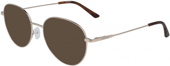 Calvin Klein CK19130 sunglasses in Gold