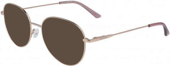 Calvin Klein CK19130 sunglasses in Rose Gold
