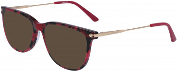Calvin Klein CK19704 sunglasses in Berry Tortoise