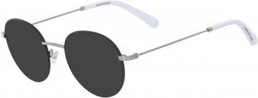 Calvin Klein Jeans CKJ19106 sunglasses in Black