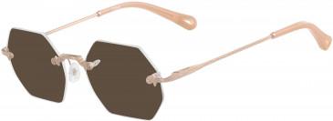 Chloé CE2146 sunglasses in Copper