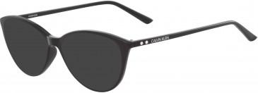Calvin Klein CK18543 sunglasses in Black