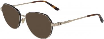 Calvin Klein CK19113 sunglasses in Gold