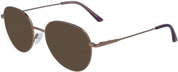Calvin Klein CK19130 sunglasses in Amber Gold