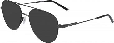 Calvin Klein CK19145F sunglasses in Matte Black