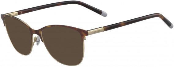 Calvin Klein CK5464 sunglasses in Havana