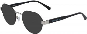 Calvin Klein Jeans CKJ19300 sunglasses in Black