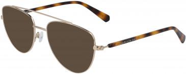Calvin Klein Jeans CKJ19308 sunglasses in Gold