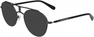 Calvin Klein Jeans CKJ19310 sunglasses in Matte Black