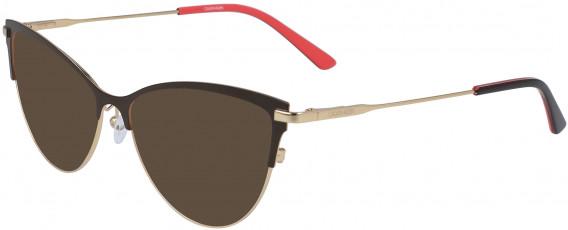 Calvin Klein CK19111 sunglasses in Dark Brown