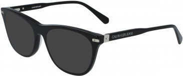 Calvin Klein Jeans CKJ19525 sunglasses in Black