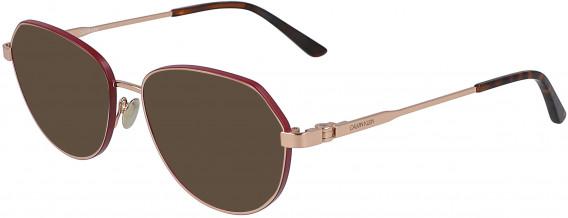 Calvin Klein CK19113 sunglasses in Rose Gold