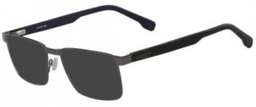 Lacoste L2243 sunglasses in Gunmetal
