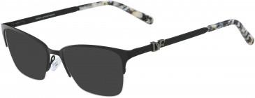DVF DVF8056 sunglasses in Black