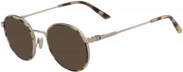 Calvin Klein CK18107 sunglasses in Khaki Tortoise