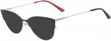 Calvin Klein CK18120 sunglasses in Satin Black