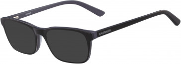 Calvin Klein CK18516-52 sunglasses in Black/Slate
