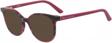 Calvin Klein CK18538 sunglasses in Berry Tortoise