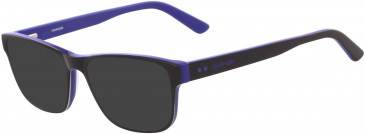 Calvin Klein CK18540 sunglasses in Black/Cobalt