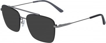 Calvin Klein CK19104-53 sunglasses in Satin Black