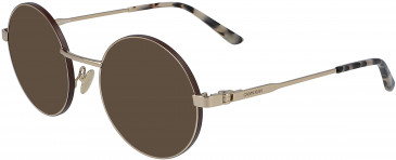 Calvin Klein CK19114 sunglasses in Gold