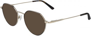 Calvin Klein CK19118 sunglasses in Light Gold