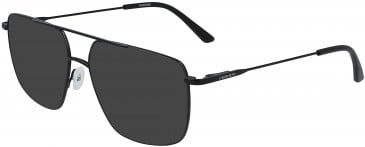 Calvin Klein CK19129 sunglasses in Matte Black