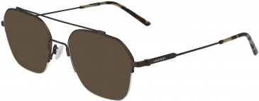 Calvin Klein CK19143F sunglasses in Satin Brown