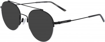 Calvin Klein CK19144F sunglasses in Satin Black