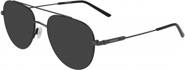 Calvin Klein CK19145F sunglasses in Matte Black