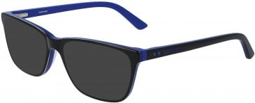 Calvin Klein CK19510 sunglasses in Black/Cobalt