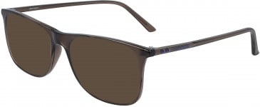 Calvin Klein CK19513 sunglasses in Crystal Dark Brown