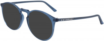 Calvin Klein CK19517 sunglasses in Crystal Blue