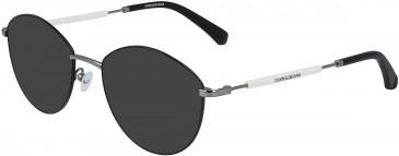 Calvin Klein Jeans CKJ19107 sunglasses in Black