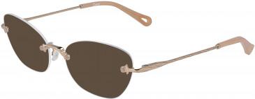 Chloé CE2154 sunglasses in Copper