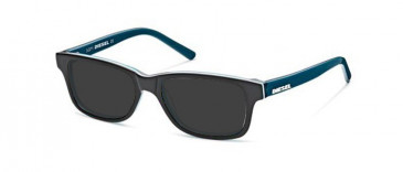 Diesel Plastic Ready-Made Reading Sunglasses