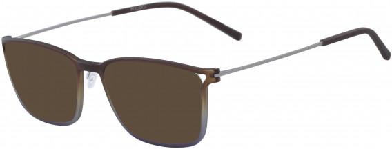 Airlock AIRLOCK 2001 sunglasses in Matte Brown/Blue Gradient